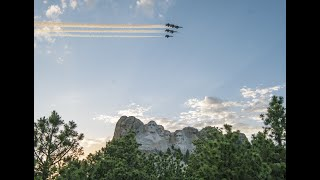 Mount Rushmore Flyovers • Salute to America