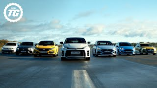 [Top Gear] Quickfire Hot Hatch Buying Guide: GR Yaris, Civic Type R, AMG A45 S, Fiesta ST, Golf GTI