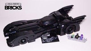 Lego 76139 Batman 1989 Batmobile  Speed Build from Tim Burton Film