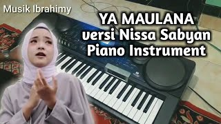 """YA MAULANA"" Nissa Sabyan Piano Instrument"