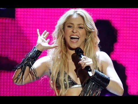 Shakira loca y waka waka (En vivo en los MTV)