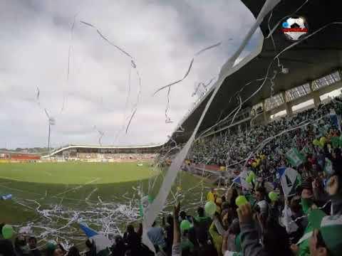 """""""Salida Los del Sur . Deportes Pto Montt"""" Barra: Los del Sur • Club: Deportes Puerto Montt • País: Chile"""