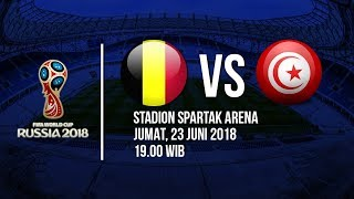 Jadwal Live Trans TV Pertandingan Piala Dunia 2018: Belgia Vs Tunisia Pukul 19.00 WIB