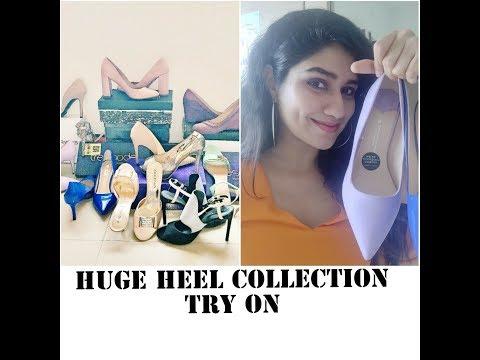 Huge Heel Collection *TRY ON* | HIGH HEEL Hauls of Last 1 Year| 2018