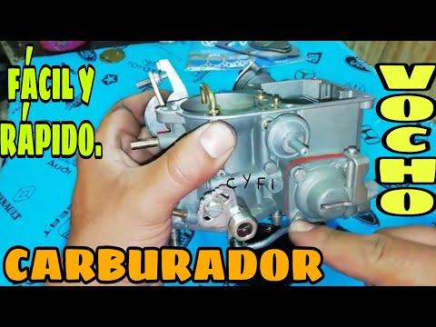 Porque no inyecta gasolina el carburador de Vocho y Combi 34 PICT-3