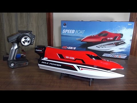WLtoys – WL915 Speed Boat – Review and Run