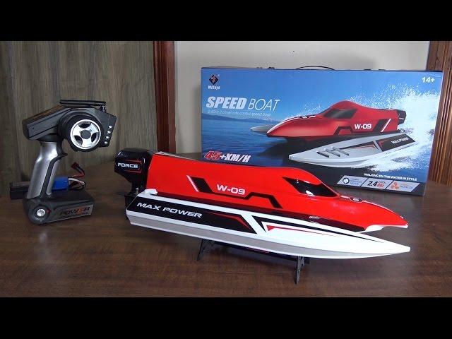 WLtoys - WL915 Speed Boat - Review and Run