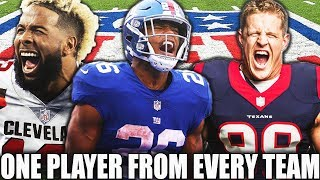 ONE PLAYER FROM EVERY NFL TEAM! TEAM BUILDER! Madden 19 Ultimate Team