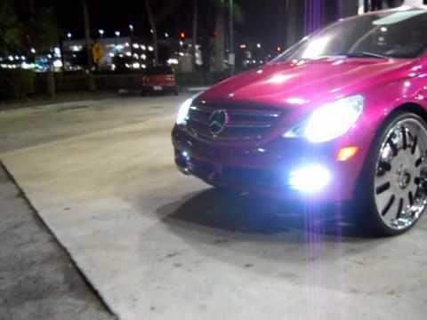 "Mercedes-Benz R63 AMG on 28"" Forgiatos"