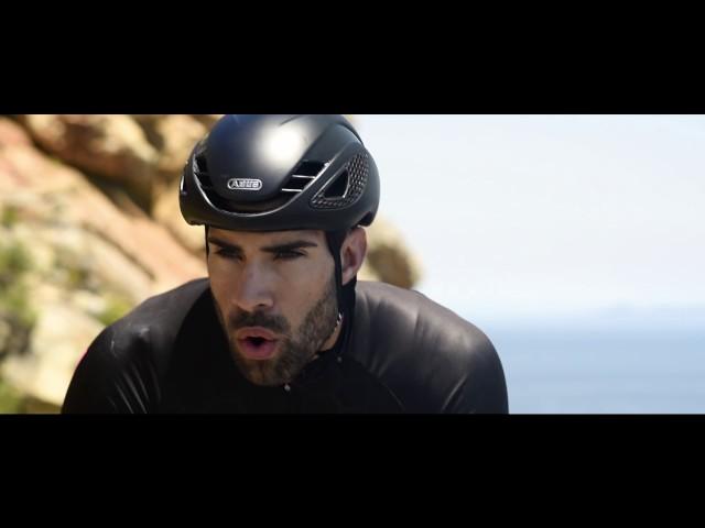 Видео Шлем велосипедный Abus GameChanger Black Gold