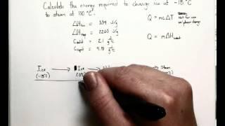 Latent Heat Calculations Practice