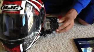 GoPro Side Mount on Motorcycle Helmet - GoPro Tip #113 | MicBergsma