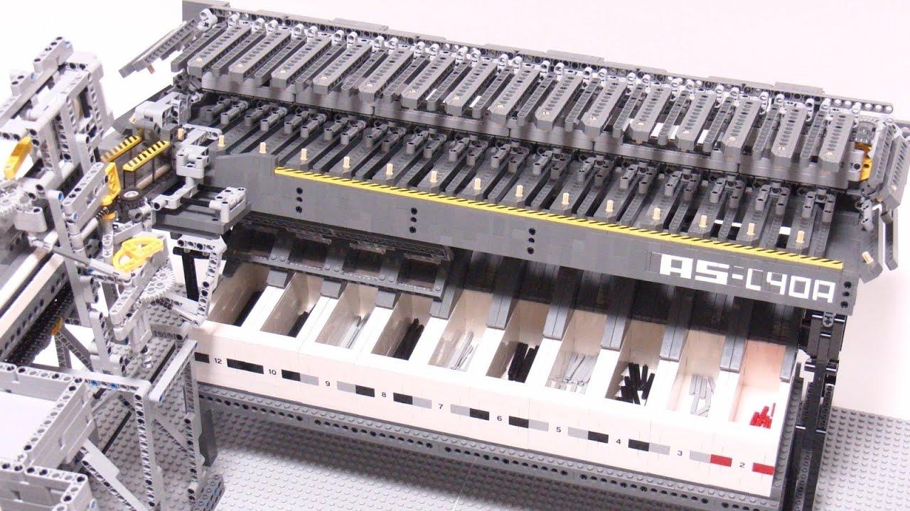 Watch This Mesmerising Lego Machine Sort Axle Pieces