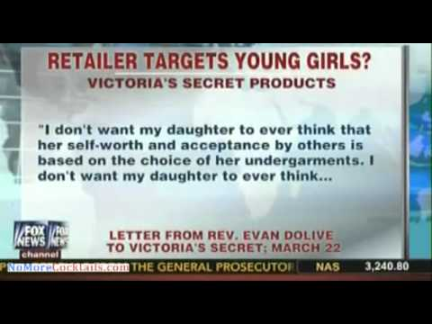Victoria's Secret targets 10-12 years olds with lingerie and lace underwear
