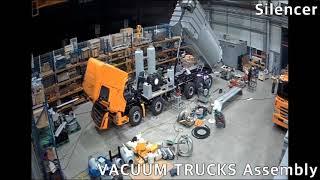 KCP Special Vehicle(습건식 진공흡입차 조립영상)