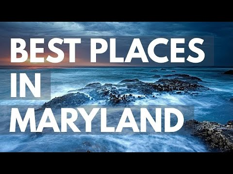 Video 10 Best Travel Destinations in Maryland USA