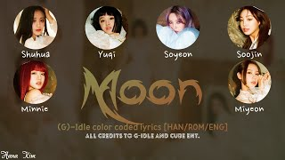 """(G)-Idle - """"Moon"""" [Picture coded Lyrics HAN/ROM/ENG] by HanaKim"""