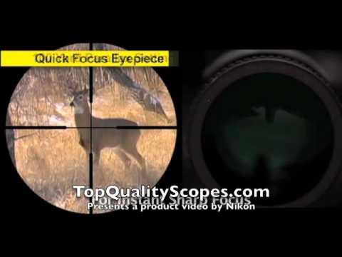 Nikon Prostaff Rifle Scope 3x9 40