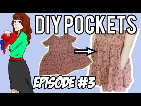 Add Pockets To Any Skirt Or Dress Without Ruining The Look