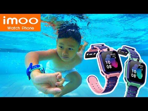 Selfie dan Renang Nyebur di Air Pakai Jam IMOO Watch Phone Z5 Terbaru