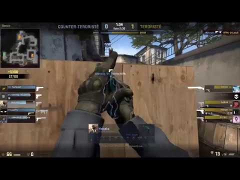 Clutching for a tie (CS:GO MATCH HIGHTLIGHTS)