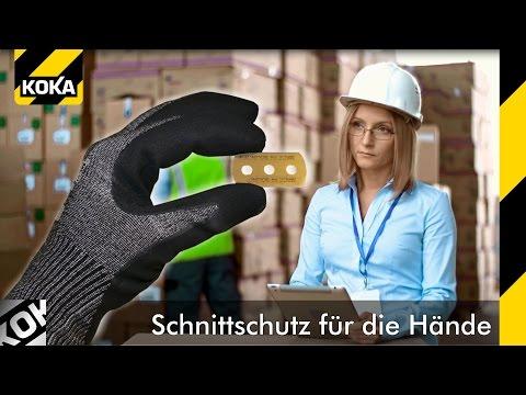 Schnittschutzhandschuhe Klasse 5 Speedsafe Black N5S von KOKA