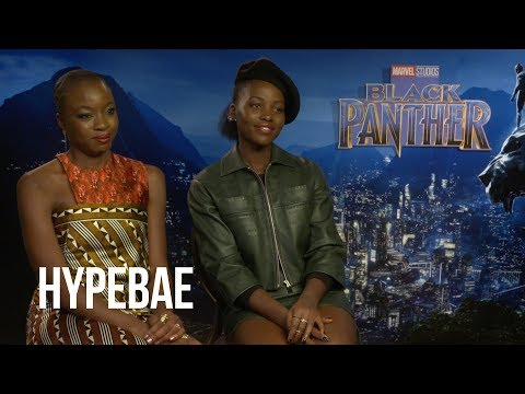 Lupita Nyong'o and Danai Gurira on the Powerful Female Characters in Black Panther