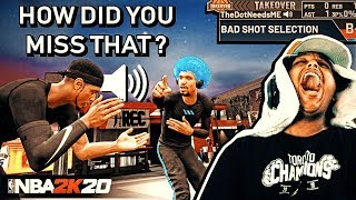 HOW MANY HORRIBLE JUMPSHOTS DOES IT TAKE BEFORE YOUR TEAMMATE THROWS HIS CONTROLLER?