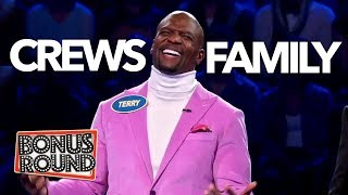 Best Of TERRY CREWS & Family On Celebrity Family Feud 2019