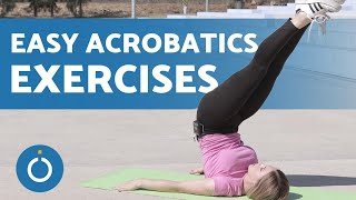 EASY ACROBATICS for BEGINNERS 🤸♀️ (3 Tips to Get STARTED)