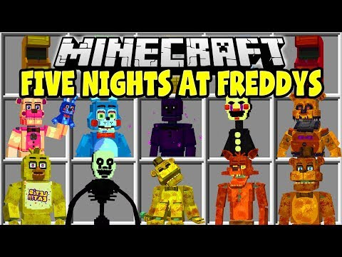 Five Nights At Freddys 1-2 Mod 1 14 4/1 13 2/1 12 2/1 11 2