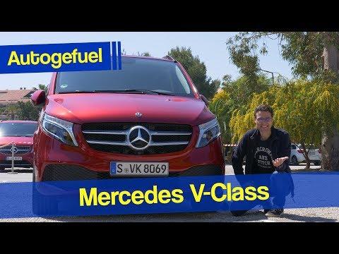 2020 Mercedes V Class Van REVIEW SWB vs LWB comparison - Autogefuel