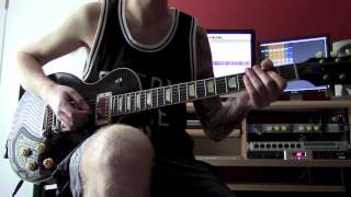 Every Time I Die - Thirst (Guitar Cover) HD
