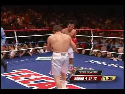 Manny Pacquiao vs. David Diaz - Lethal Combination Part (2/3)