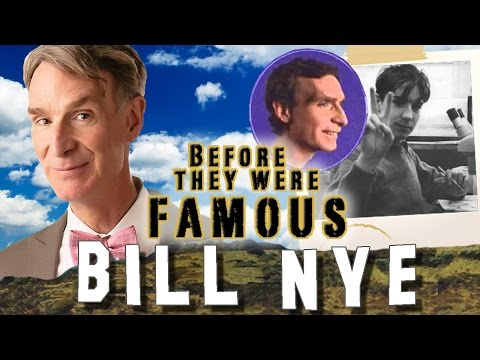 BILL NYE - Before They Were Famous