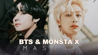 BTS & MONSTA X — 'Louder Than Bombs X Lost In The Dream' (MASHUP)