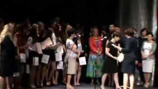 preview picture of video 'Nasz Lubin -Zakończenie roku szkolnego ostatnich klas w Gimnazjum nr 4 w Lubinie'