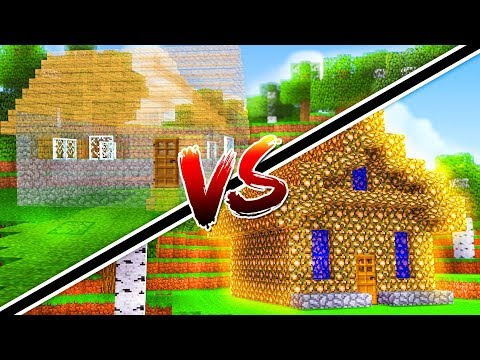 CASA INVISIBLE VS CASA DE LUZ | MINECRAFT