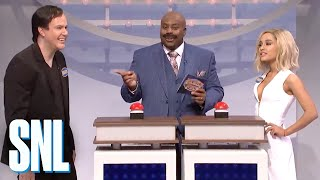 Celebrity Family Feud with Ariana Grande - SNL - Video Youtube