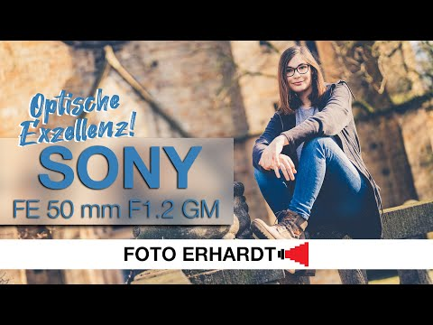Vorgestellt: Das Sony FE 50 mm F1.2 GM