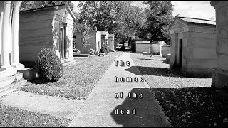The homes of the dead in West Laurel Hill Cemetery
