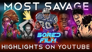 Most Savage Highlights On Youtube (Legendary Moments & Athletes)