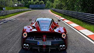 Project CARS 2 - Gameplay Ferrari LaFerrari @ Nurburgring Nordschleife [4K 60FPS ULTRA]