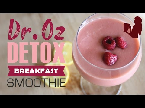 Video Dr Oz 3 Day Detox Breakfast Smoothie Drink by Blender Babes