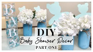 DIY BABY SHOWER PARTY IDEAS (Part 1)