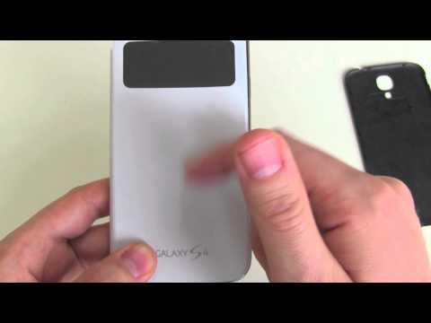 Samsung Galaxy S4: S View-Cover unter die Lupe genommen [Zubehör]