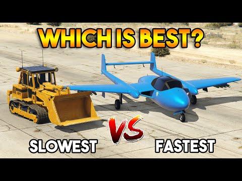 最慢跟最快的載具
