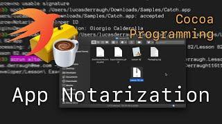Cocoa Programming L82 - App Notarization