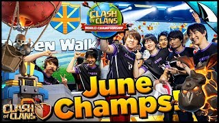 *Triples From The Champs* Queen Walkers June Qualifiers | Clash of Clans
