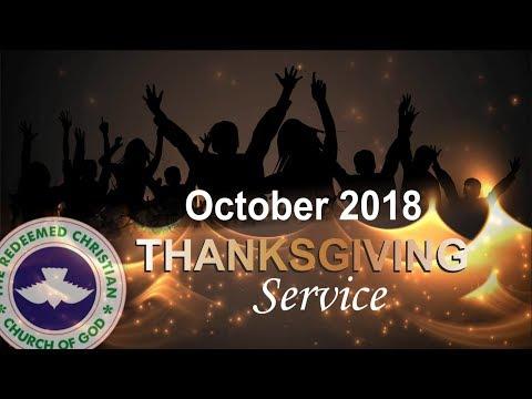 RCCG DUBAI October 2018 THANKSGIVING SERVICE